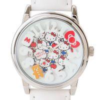 【热销】hello kitty蛋糕时尚可爱儿童手表KT猫学生皮革手表