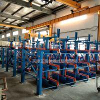 上海管材货架报价 伸缩悬臂货架优点 管材库专用