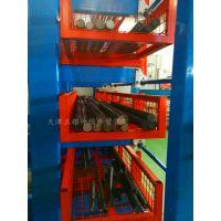 广东双悬臂货架使用图 伸缩式管材货架供应