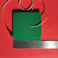 RFID陶瓷外接天线UHF超高频无源6C分体式读写器射频天线SMA头900M