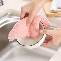 5条包邮装不掉毛吸水抹布加厚双层超细纤维擦桌布厨房清洁洗碗巾
