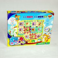 厂家批发36片塑料方格积木儿童益智拼图玩具五元玩具货源地摊热卖