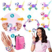 宠物魔法手链 惊喜扭曲变形diy女孩串珠饰品玩具创意礼物外贸爆款