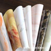 PVC皮革面料  大理石图案沙发家具人造革  PU皮革