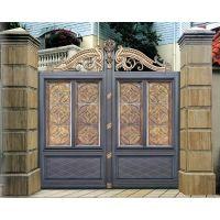 佛山 庭院大门厂家 整套门私人订制 电动铝合金大门