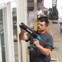 makita牧田充电式填缝枪DCG180锂电18V电动工具玻璃墙缝填缝日本原装进口 600ml托架