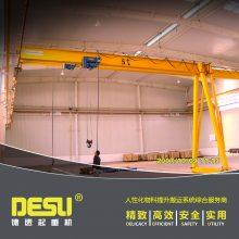 电动葫芦门式起重机 山东门式起重机 门式起重机生产厂家 单梁门式起重机