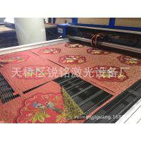 无尘布无纺布激光切割机 沙发布料皮革切割机 鼠标垫切割制作设备