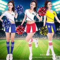 新款性感足球宝贝拉拉队比赛队服舞蹈服装表演演出服啦啦操服装