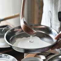 凉皮锣锣做凉皮的工具不锈钢蒸面皮家用盘陕西酿皮罗罗双耳平底锅