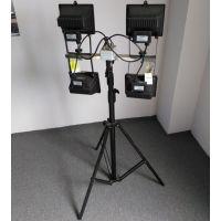 SFD3000B-4*500W便携式升降工作灯 飞利浦应急灯