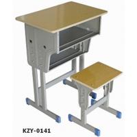 赣州厂家直销双人课桌椅 可定制培训班辅导班儿童桌椅学生课桌椅
