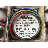 NIDEC SERVO电产伺服同步电机SR1G 6Z6M日本原装供应