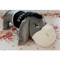 毛绒玩具公仔毛驴靠垫抱枕 网店代理一件代发 厂家批发