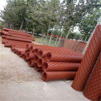 厂供应圈玉米钢板网 菱形孔钢板网 建筑外墙抹墙菱形网