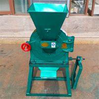 现货自吸式立式进料口的饲料粉碎机小型多用的齿盘式饲料加工机械