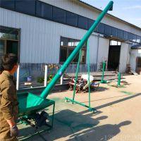 养殖场干湿两用耐腐蚀抽粪机 螺旋实心轴倾斜蛟龙机