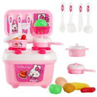 儿童过家家厨房餐具台玩具套装仿真做饭带男女孩0-3-7岁