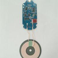 新款10W快速无线充PCBA板兼容7.5W带FOD异物检测温度低稳定性好