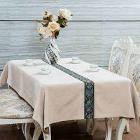 欧式中式家居绣花桌布厂家 复古中国风餐桌布批发 家饰布艺定制