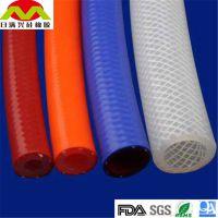 厂家直销 硅胶编胶管 食品级硅胶编织软管 耐磨无味硅胶编织管