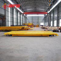 厂区运输汽车模具轨道平台车 可定制拖电缆供电管片搬运有轨电动车包邮款