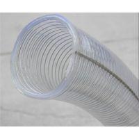 pvc透明钢丝管-透明塑料管选兴盛-开封透明钢丝管