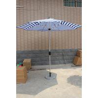 户外休闲铝合金中柱伞、手摇遮阳伞定制