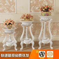 室内绿萝花架木质多层仿实木客厅欧式花盆架子落地室内简约花盆架