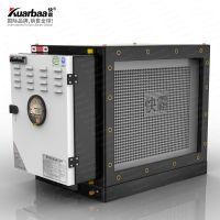 快霸(Kuarbaa) 油烟净化器4000风量餐饮厨房烧烤单个活性炭除异味设备