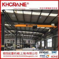 上海欧式单梁行车10T欧式钢丝绳葫芦单梁起重机单梁桥式起重机行吊