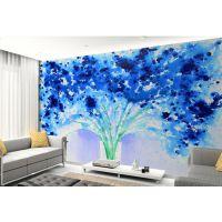 3D大型壁画墙纸 客厅电视背景墙壁纸 无纺花卉壁纸唯美欧式壁画