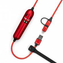 iwalk卡通移动电源自带充电线小巧便携独特