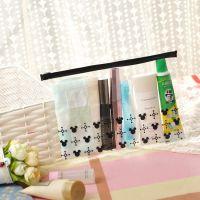 时尚女包收纳包出差洗漱包透明收纳整理包手拿便携化妆包环保PVC
