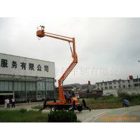 12米高空作业平台 能跨过障碍物工作折臂式升降