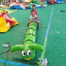 幼儿园体智能游戏道具充气毛毛虫竞赛儿童趣味运动会缺它不可