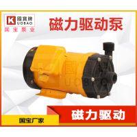 浙江磁力驱动泵厂家 国宝耐腐蚀磁力泵 安全无泄漏
