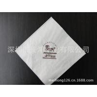 1/4折2层100 纯木浆餐巾纸卫生纸生产厂家 优质酒店餐厅用餐巾纸