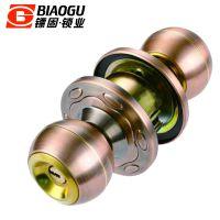 镖固锁厂专业供应球锁执手锁纯铜锁木门不锈钢门锁锌合金不锈钢锁具BG-328AC