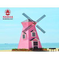 四川风车厂家,实木风车、荷兰风车定制安装