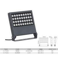 拓龙照明厂家直销户外防水36W大功率led投光灯亮化工程专用方形投射灯