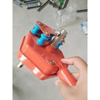 大棚手动侧部卷膜器 韩式手动钢芯卷膜器 侧墙卷帘机摇膜器