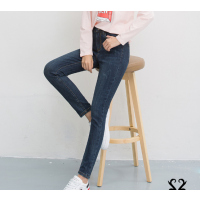 女士牛仔裤清仓杂款小脚裤便宜尾货牛仔裤摆地摊货源批发