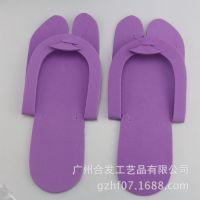 广州番禺工厂直供红黄蓝绿黑白色一次性平价eva拖鞋 2016宾馆拖鞋