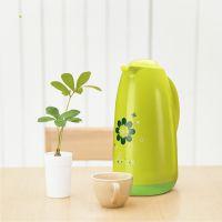 保温壶家用热水瓶户外大容量玻璃内胆真空保暖水壶按压式保温瓶