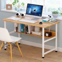 拼装家用电脑台固定宿舍床学习办公桌椅现代简约办公桌宽板材办工