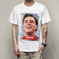 经典美剧好莱坞电影 楚门的世界 T恤 电影周边 楚门秀T恤衫