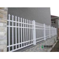 厂家直销学校围墙锌钢护栏 小区社区围墙围栏 外墙防护栅栏