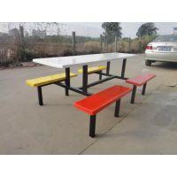 中山厂家直销快餐桌椅 玻璃钢餐桌椅 学校工厂食堂用餐桌 餐台