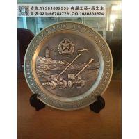 广西部队周年纪念品,锌合金浮雕奖牌,老兵退役留念礼品推荐
